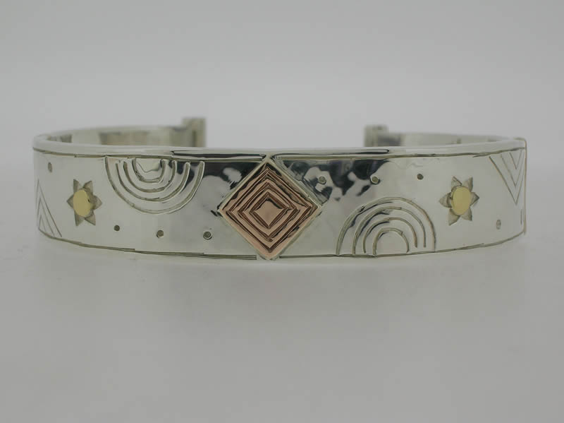 Rainbow & star bangle